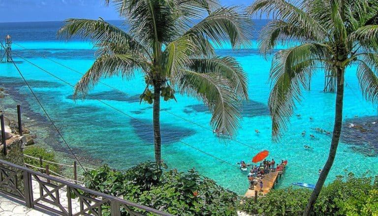 Garrafon Reef Park Mexico