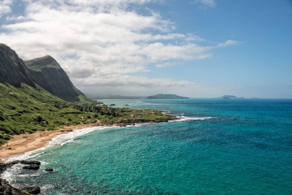 Oahu east coast hawaii
