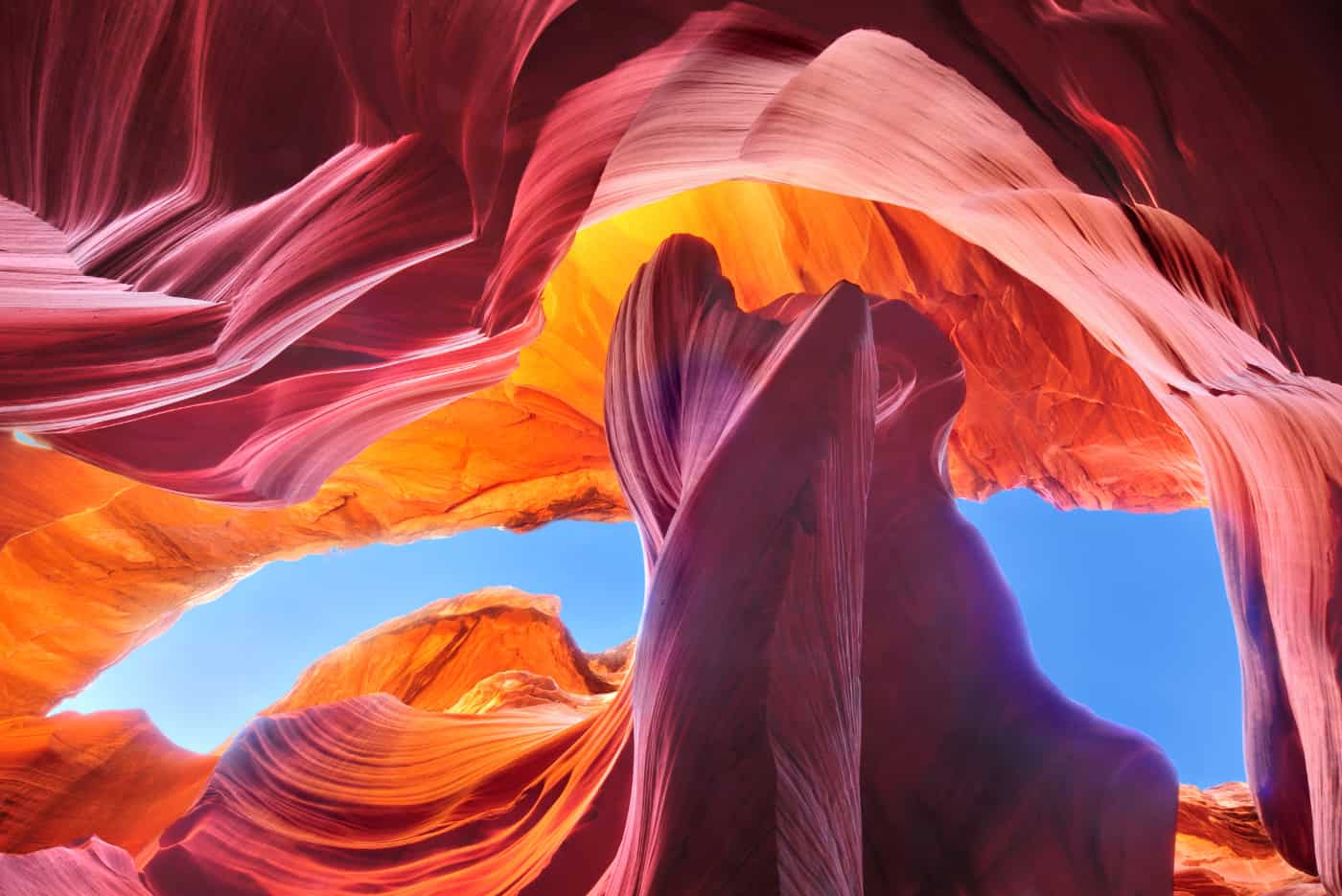 antelope canyon stone formations