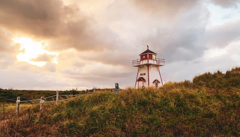Covehead Lighthouse Prince Edward Island National Park