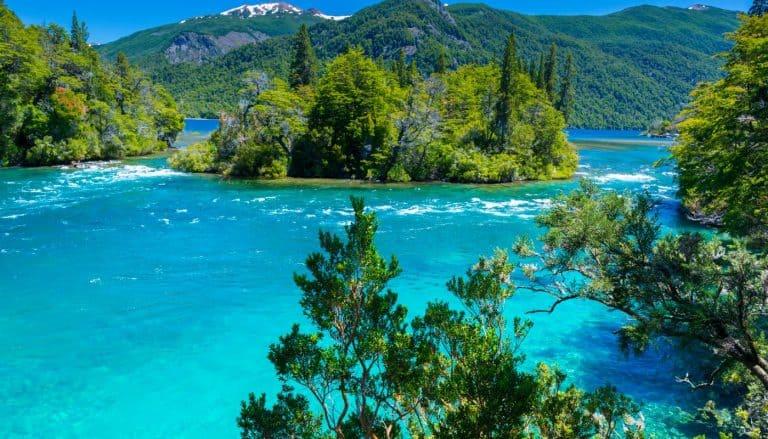 Menendez lake Los Alerces National park