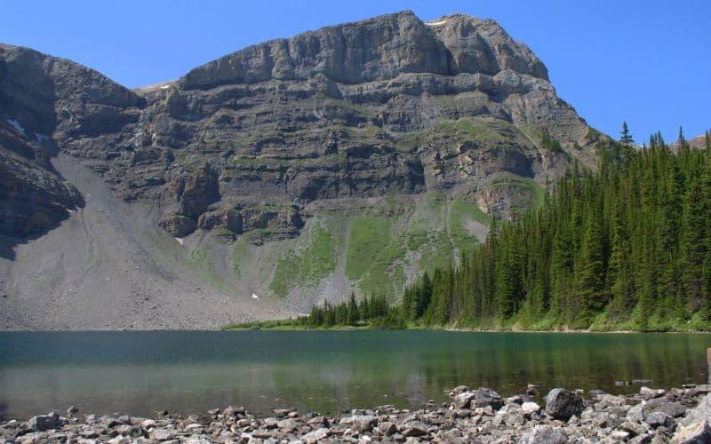 Bourgeau Lake Harvey Pass banff ab NL