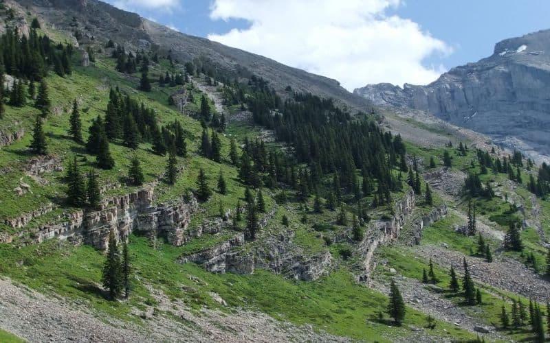 Cascade Amphitheatre Trail banff ab NL
