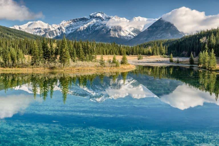 banff national park lake