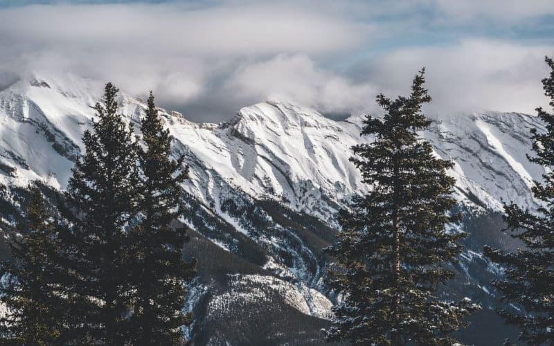 sulphur mountain trail view banff ab SP