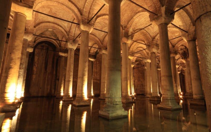 Basilica Cistern istanbul SP