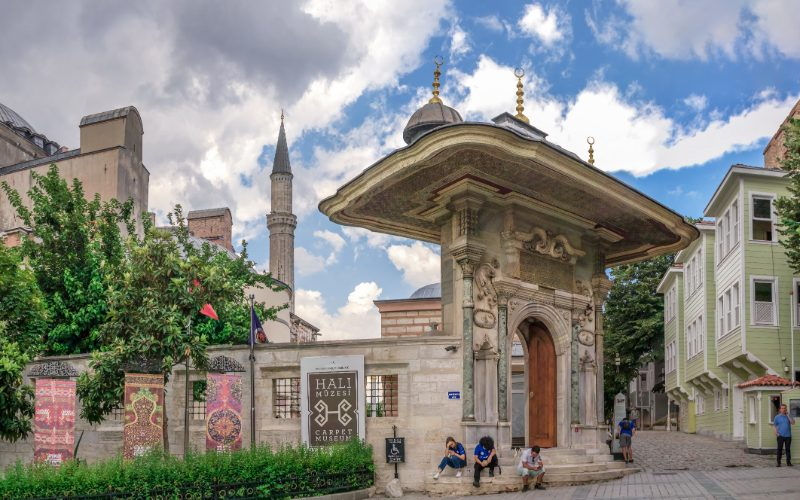 carpet museum istanbul turkey