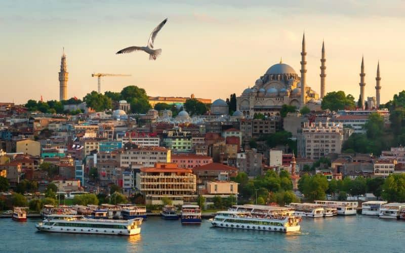 sunset Bosphorus Cruise istanbul