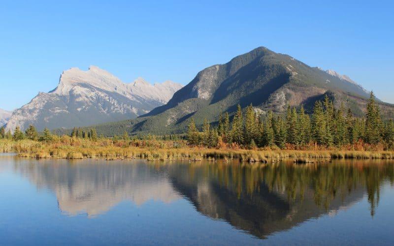 vermilion lakes banff alberta SP