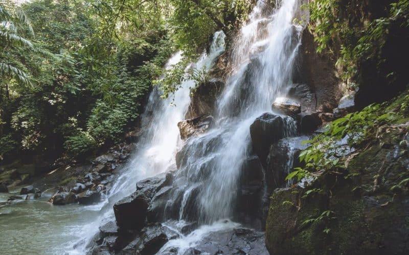 kanto lampo waterfall bali indonesia