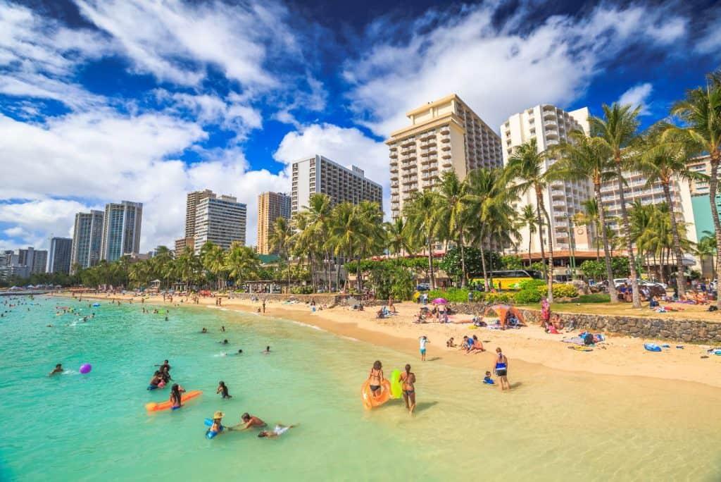 Kuhio Ponds Waikiki Beach honolulu