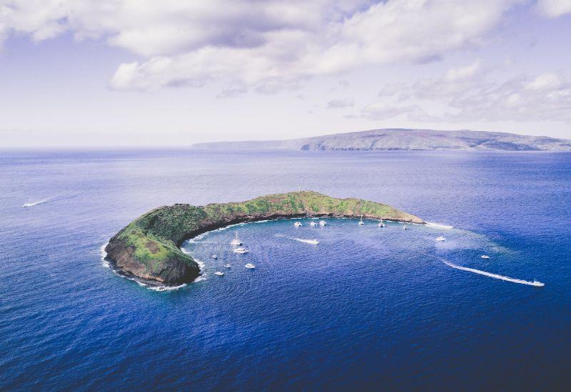 Molokini Crater in Maui hawaii SP