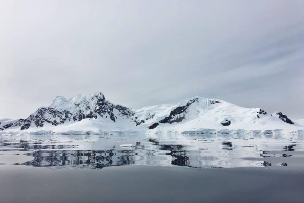 antarctica twin peaks sp