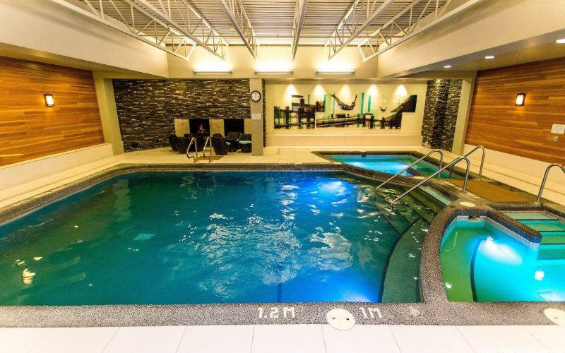 banff park lodge pool hot tub sm