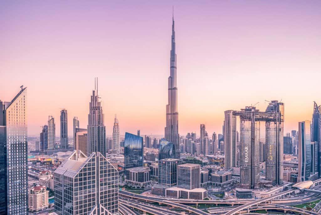 dubai skyscraper view sp