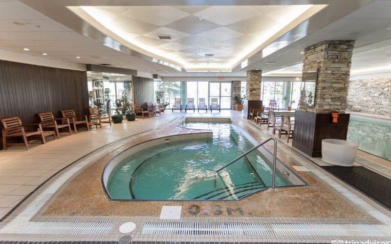 rimrock resort banff hot tub sm