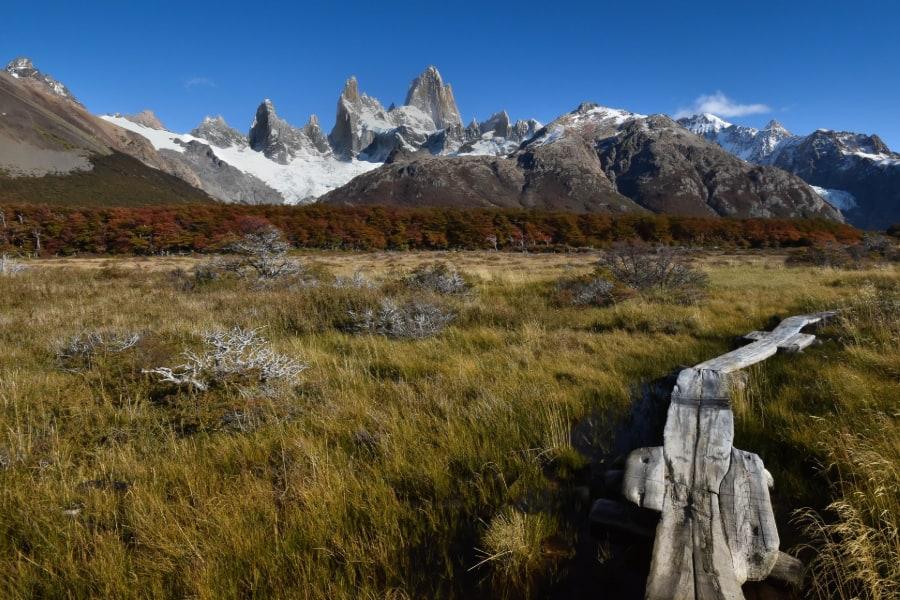 Fitz Roy hike El Chalten argentina sp