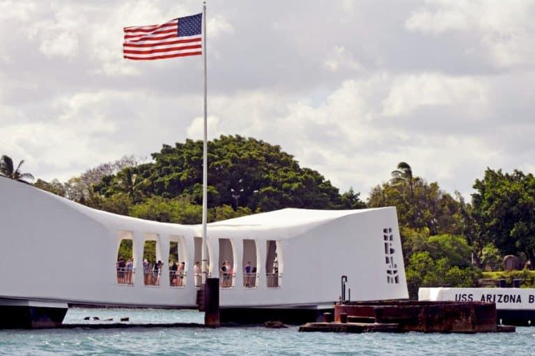 USS Arizona Memorial pearl harbor